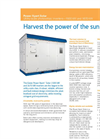 Eaton Power Xpert - 1500/1670 kW - Utility-Scale Photovoltaic Solar Inverter Brochure
