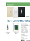 Pow-R - 25 - Command Controller Product Aids Brochure