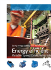 Variable Speed Drive Pump Promotional Brochure