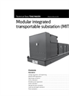Modular integrated transportable substation (MITS) Technical Datasheet