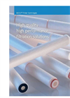 BECO Filter Cartridges Brochures