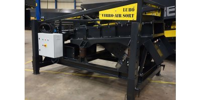 Lubo System - Vibro-Airt Sort System Consists of Vibrating Conveyor