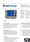 BBA Pumps BA 100K D193 Diesel Driven Dewatering And Sewage Pump - Technical Specifications