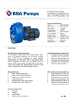 BBA - Model B100 - Self-Priming Centrifugal Pump - Datasheet
