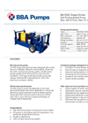 BBA Pumps BA150E D285 - Diesel Driven Self Priming Ballast Pump - Technical Specifications
