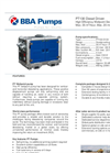 BBA Pumps PT130 D130 Diesel Wellpoint Dewatering Pumps - Technical Specifications