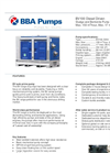 BBA Pumps BV100 D240 Diesel Driven Sludge and Bentonite Pump - Technical Specifications