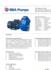 BBA Pumps B70 BVGMC Self-Priming Centrifugal Pump - Technical Specifications