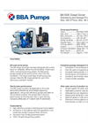 BBA Pumps BA150E D285 Dewatering and Sewage Pump - Technical Specifications