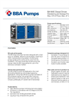 BBA Pumps BA180E D270 Dewatering and Sewage Pump - Technical Specifications