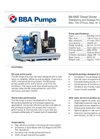 BBA Pumps BA180E D315 Dewatering and Sewage Pump -  Technical Specifications