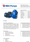 BBA Pumps B70-4 Self-Priming Centrifugal Pump - Technical Specifications