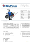 BBA Pumps B70-4 BVGMC Self-Priming Centrifugal Pump - Technical Specifications