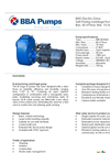 BBA Pumps B85 BVGMC Self-Priming Centrifugal Pump - Technical Specifications