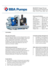 BBA Pumps BA200E Dewatering and Sewage Pump - Technical Specifications
