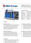 BBA Pumps BA300E D388 Dewatering and Sewage Pump - Technical Specifications