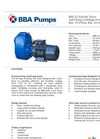 BBA Pumps B85-S2 Self-Priming Centrifugal Pump - Technical Specifications