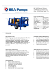 BBA Pumps BE160 D245 Self-Priming Centrifugal Ballast Pump - Technical Specifications