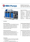 BBA Pumps BA300E Dewatering and Sewage Pump - Technical Specifications
