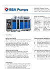 BBA Pumps BA350E Dewatering and Sewage Pump - Technical Specifications