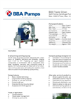 BBA Pumps B300 Tractor Driven Pump - Technical Specifications