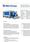 BBA Pumps BA600G D743 Water Transfer Pump - Technical Specifications