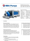 BBA Pumps BA700G D810 Water Transfer Pump - Technical Specifications