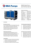 BBA Pumps BA80H High Head Pump - Technical Specifications