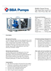 BBA Pumps BA80H D275 High Head Pump - Technical Specifications