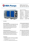 BBA Pumps BA80H D315 High Head Pump - Technical Specifications