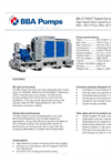 BBA Pumps BA-C150H7 High Head Pump - Technical Specifications