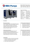 BBA Pumps BA-C150H7 D406 High Head Pump - Technical Specifications