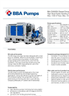 BBA Pumps BA-C200S3 High Head Water Transfer Pump - Technical Specifications