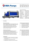 BBA Pumps BA-C200S8 D495 High Head Water Transfer Pump - Technical Specifications