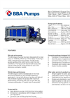 BBA Pumps BA-C200H42 High Head Mining Pump - Technical Specifications