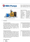 BBA Pumps BA-C100H40 D498 Diesel Driven High Head Bolt On Pump Package - Technical Specifications