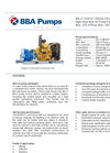 BBA Pumps BA-C150H41 D557 Diesel Driven High Head Bolt On Pump Package - Technical Specifications