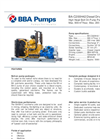 BBA Pumps BA-C200H42 D557 Diesel Driven High Head Bolt On Pump Package - Technical Specifications