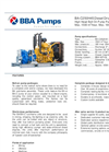 BBA Pumps BA-C250H45 D610 Diesel Driven High Head Bolt On Pump Package - Technical Specifications