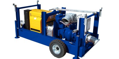 BBA Pumps - Model BA150E D285 - Diesel Driven Self Priming Ballast Pump