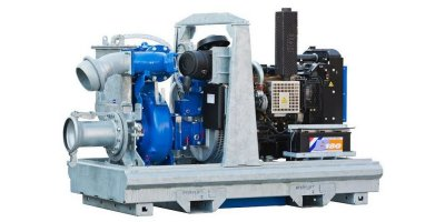 BBA Pumps - Model BA200E D328 - Diesel Driven Dewatering Pump and Sewage Pump