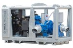 BBA Pumps - Model BA100E D265 - Diesel Driven Dewatering Pump and Sewage Pump