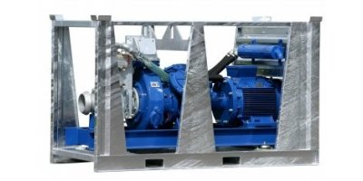 BBA Pump - Model BV140 D285 - Electric Drive Sludge and Bentonite Pump