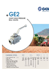 Model GE2 - 2-Way High Pressure Ball Valves Brochure