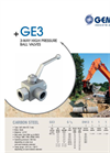 Model GE 3 - 3-Way High Pressure Ball Valves Brochure