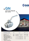 Model GN - 2-Way High Pressure Ball Valves - Brochure