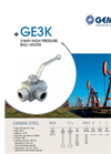 Model GE3K - 3-Way High Pressure Ball Valves Brochure