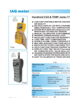 7752 - CO2–Temp. Meter – Specifications
