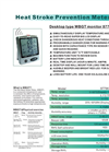 87796 - WBGT Monitor – Specifications