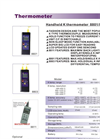 8803 - Dual K Thermometer – Specifications
